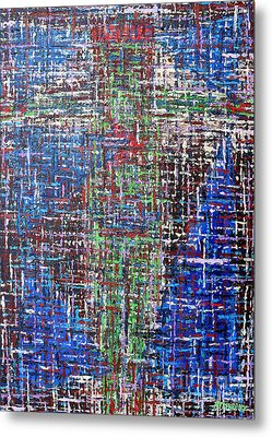 Cross 2 Metal Print by Patrick J Murphy