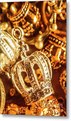 Crown Jewels Metal Print