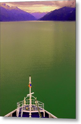 Cruise To The Sun Metal Print by Mindy Newman