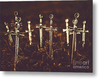 Crusaders Cemetery Metal Print by Jorgo Photography - Wall Art Gallery