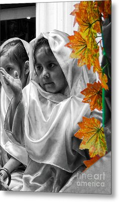 Cuenca Kids 885 Metal Print by Al Bourassa