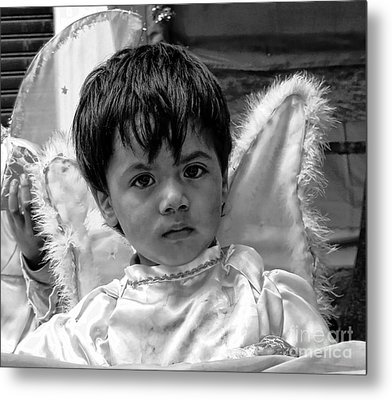 Cuenca Kids 893 Metal Print by Al Bourassa