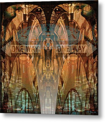 Cultural Divide Metal Print by Bill Jonas