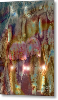 Curtain Call Metal Print by Gabrielle Schertz