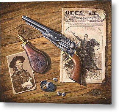 'custer's Colt' Metal Print