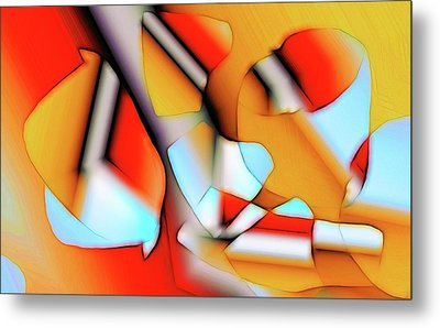 Cutouts Metal Print by Ron Bissett