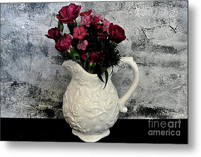 Metal Print featuring the photograph Dainty Flowers by Marsha Heiken