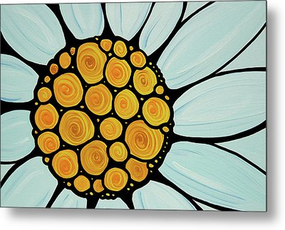 Daisy Metal Print by Sharon Cummings