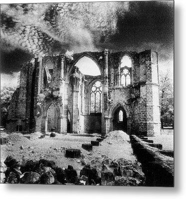 Dammarie Les Lys Abbey Metal Print by Simon Marsden