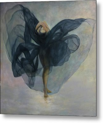 Dance With A Black Shawl Metal Print