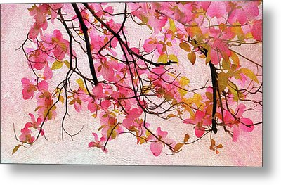 Dangling Dogwood Metal Print by Jessica Jenney