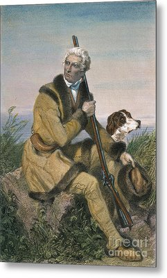 Daniel Boone (1734-1820) Metal Print by Granger