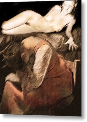 Metal Print featuring the photograph Danse De La Memoire by Sandro Rossi