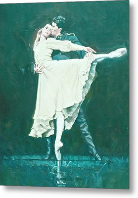 Darcey Bussell Farewell Winter Dreams Metal Print by Charles Willmott