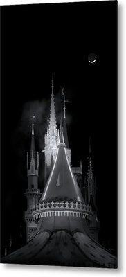 Metal Print featuring the photograph Dark Castle by Mark Andrew Thomas