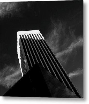 Dark Geometry Metal Print by Kevin Bergen