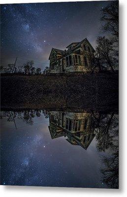 Metal Print featuring the photograph Dark Mirror by Aaron J Groen