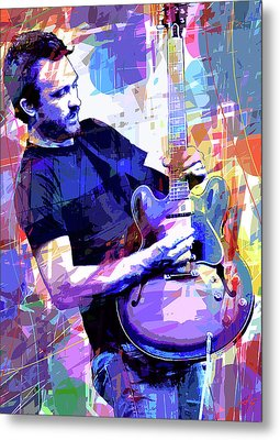 Darren Glover - Blues Note Metal Print