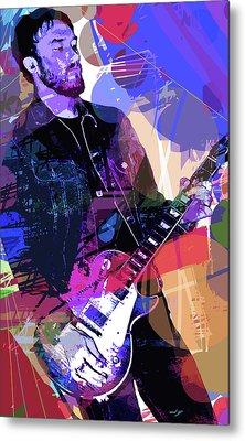 Darren Glover Les Paul Gibson Metal Print