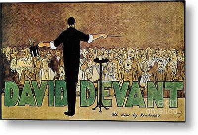 David Devant Poster C1910 Metal Print by Granger
