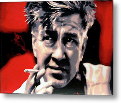David Lynch Metal Print