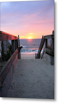Dawn At The Beach Metal Print