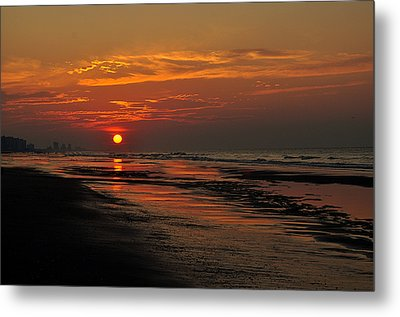 Dawn Of A New Day Metal Print by Kathy Jennings