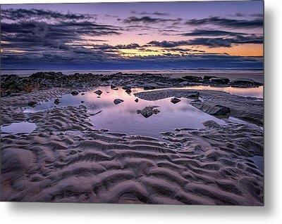 Dawn On Wells Beach Metal Print by Rick Berk