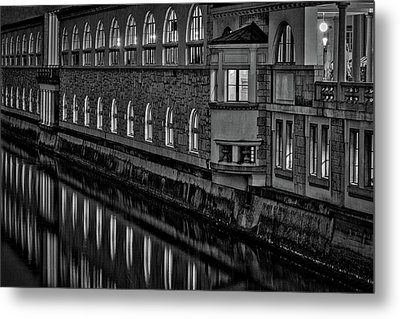 Metal Print featuring the photograph Dawn River Reflections #2 - Slovenia by Stuart Litoff