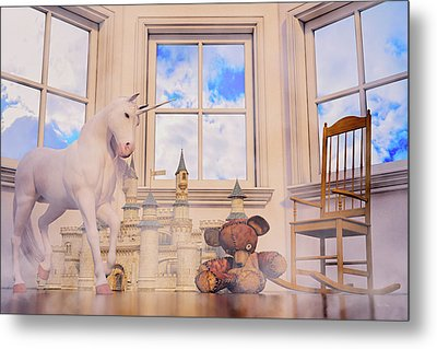 Daydream Evening Tint Custom Metal Print by Betsy Knapp