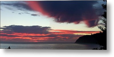 Days End Metal Print by Angi Parks