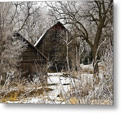 Days Gone Bye Metal Print by Edward Peterson
