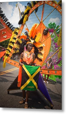 Dc Caribbean Carnival No 13 Metal Print by Irene Abdou