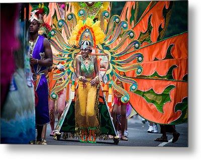 Dc Caribbean Carnival No 15 Metal Print by Irene Abdou