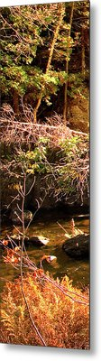 1 Of 6 Dead River Falls  Marquette Michigan Section Metal Print by Michael Bessler