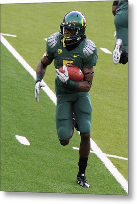 De'anthony Thomas Oregon Ducks Metal Print by Sam Amato