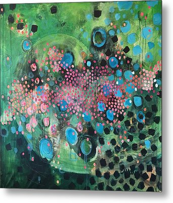 Dear Sugar A Pocket Of Delights Metal Print by Laurie Maves ART