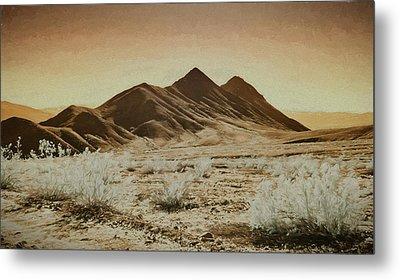 Death Valley Landscape Metal Print
