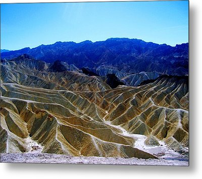 Metal Print featuring the photograph Death Valley Moguls by Don Struke