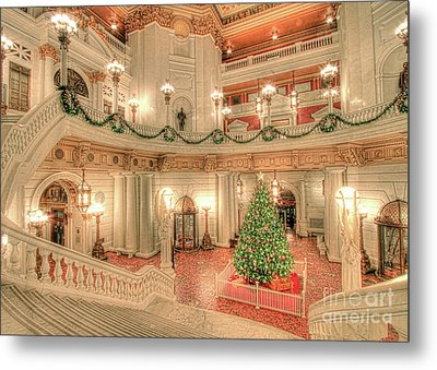 Deck The Hall Metal Print