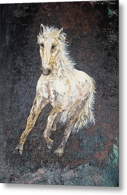 Metal Print featuring the painting Dedicated by Piety Dsilva