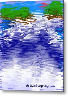 Deep Water Metal Print by Dr Loifer Vladimir