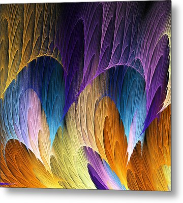 Defying The Law Of Gravity Metal Print by Lea Wiggins