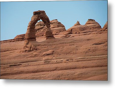 Delicate Arch Alternate View Metal Print