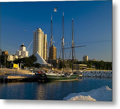 Metal Print featuring the photograph Denis Sullivan by Peter Skiba
