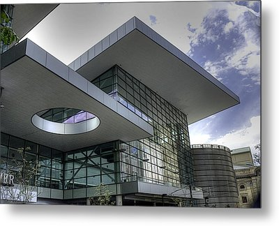 Denver Convention Center Metal Print by David Bearden