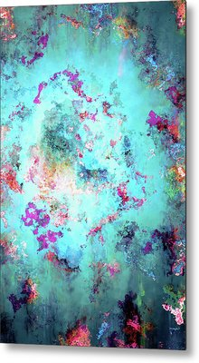 Depths Of Emotion - Abstract Art Metal Print