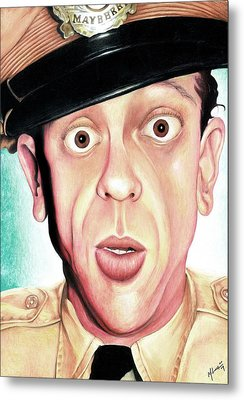 Deputy Of Mayberry Metal Print by Marvin  Luna