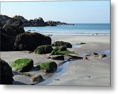 Derrynane Beach Metal Print by Marie Leslie