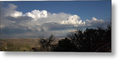 Metal Print featuring the photograph Desert Clouds by Farol Tomson